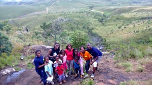 Going all the way to the top of Nyangani Mountain, Zimbabwe's highest peak at 2593m. #family challenge #get to the top